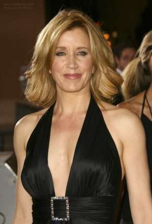 Leaving Forests: photo of Felicity Huffman looking gorgeous.