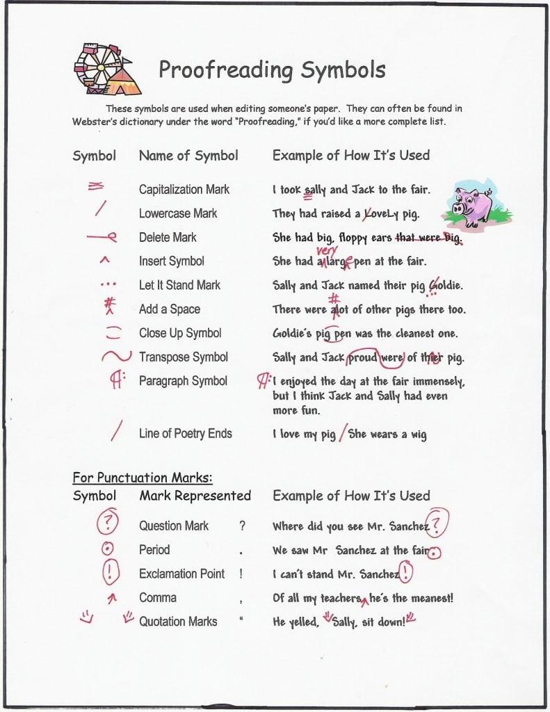 editors marks
