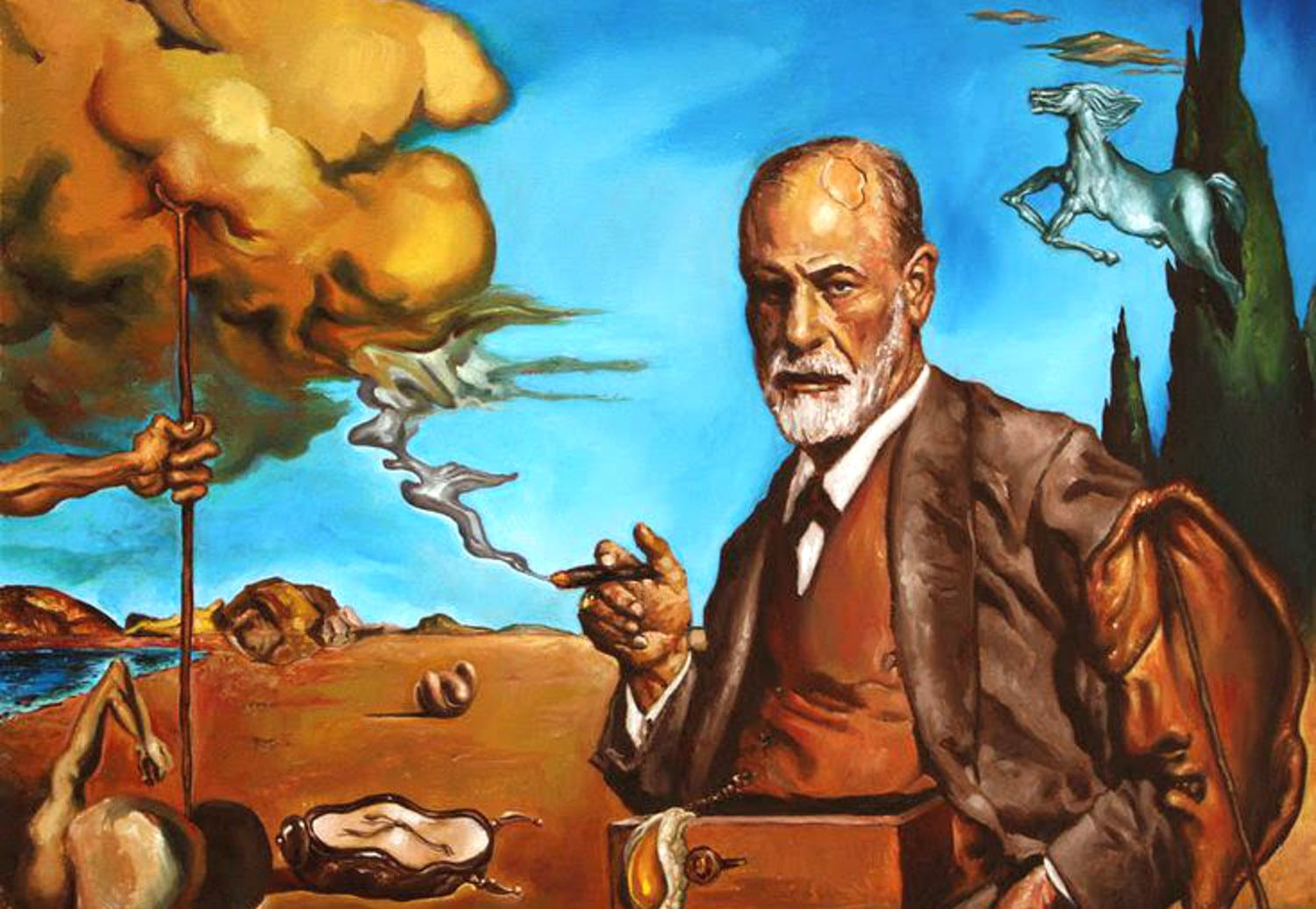 SigmundFreud Surrealists 1500