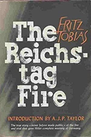 Antifa-sters: cover of Fritz Tobias's book THE REICHSTAG FIRE.