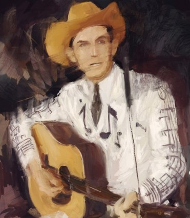 Hank WIlliams illustration