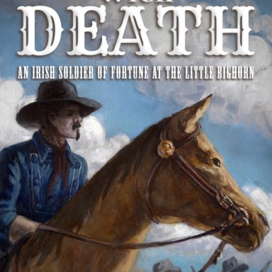 A Dance with Death book cover illustration (layout by Matthew Wayne Selznick)