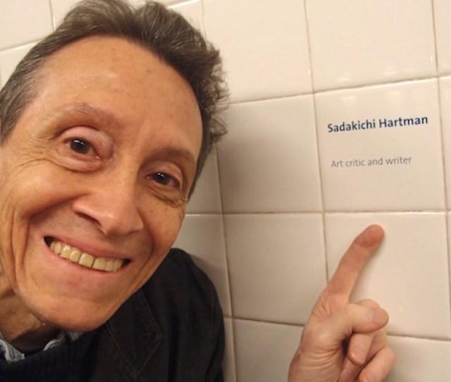 Adc With Sadakichi Hartmanns Hat New York May   B