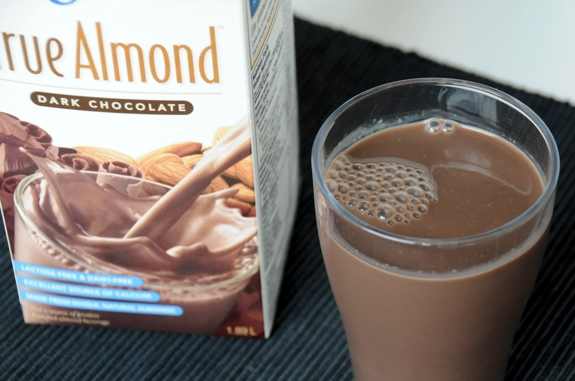 Silk True Almond Dark Chocolate almond milk