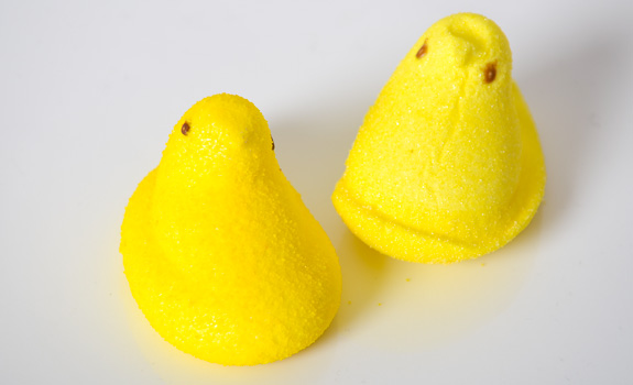 Food Fight: Peeps vs. No Sugar Added Peeps