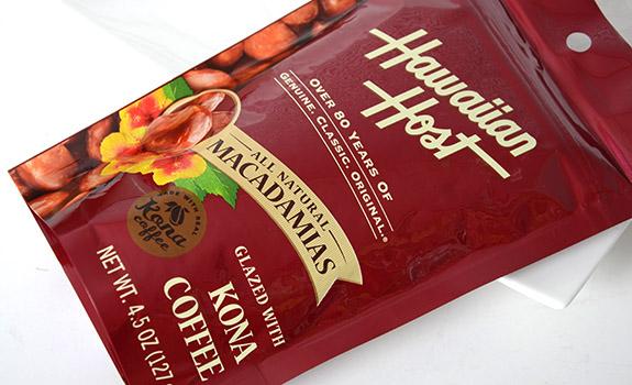 Hawaiian Host Macadamias Glazed with Kona Coffee