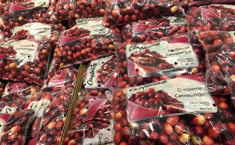 So many cranberries