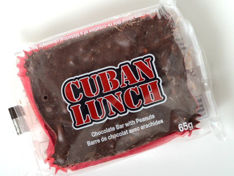 Cuban Lunch chocolate bar