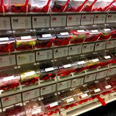 Ikea's Bulk Candy Bar (Lordagsgodis)