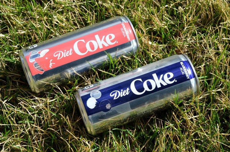 Oddball Diet Coke flavours