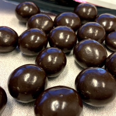 Brookside Merlot chocolate orbs