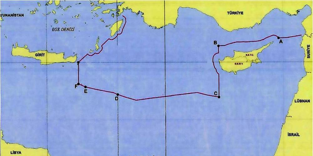 Τούρκος αξιωματούχος δημοσίευσε τον χάρτη της συμφωνίας με τη Λιβύη