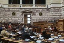 Βουλή: Ψηφίστηκε επί της αρχής το νομοσχέδιο για τις διαδηλώσεις