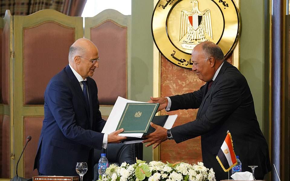 Ν. Δένδιας: Μεγάλη εθνική επιτυχία η συμφωνία με Αίγυπτο – Αμεσα στη Βουλή