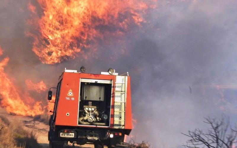 Προειδοποίηση Πολιτικής Προστασίας: Πολύ υψηλός κίνδυνος πυρκαγιάς την Τετάρτη