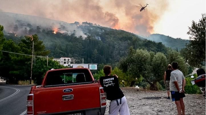 Εως 30 Ιουλίου οι αιτήσεις για αποζημιώσεις από τον ΕΛΓΑ για ζημιές από την πρόσφατη πυρκαγιά