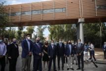 Εγκαινιάσθηκε η σύγχρονη πεζογέφυρα, δωρεά της Βουλής, στο νοσοκομείο «Η Σωτηρία»
