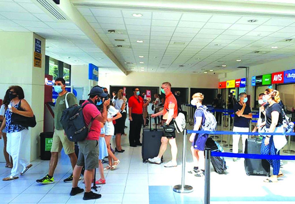 ΤτΕ: Αύξηση 286,2% για τις ταξιδιωτικές εισπράξεις τον – Mειώθηκαν 51,2% το πεντάμηνο