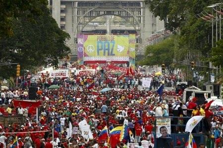 Chavistas support maduro