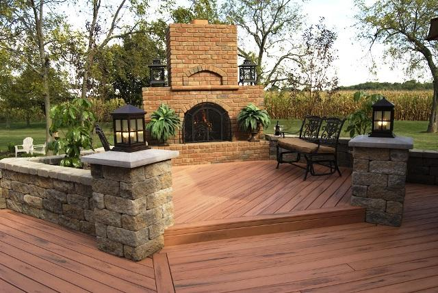 wood-multi-level-deck-with-an-outdoor-fireplace