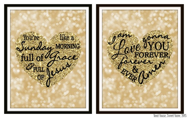 Free Valentine's Day Wall Art