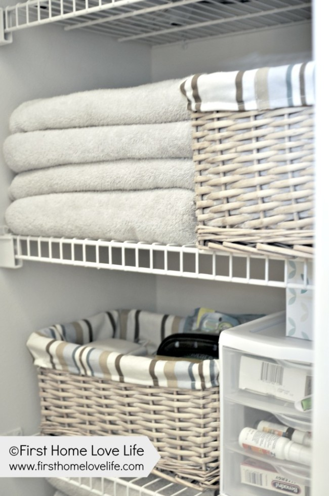 Linen Closet By First Home Love Life