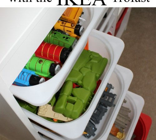 Toy Organization With Ikea Trofast (and a Quick Tip!)