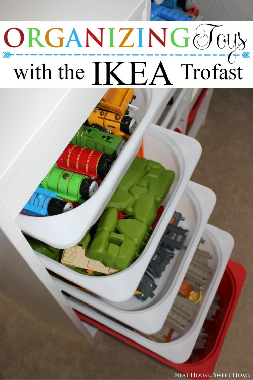 Toy Organization with Ikea Trofast