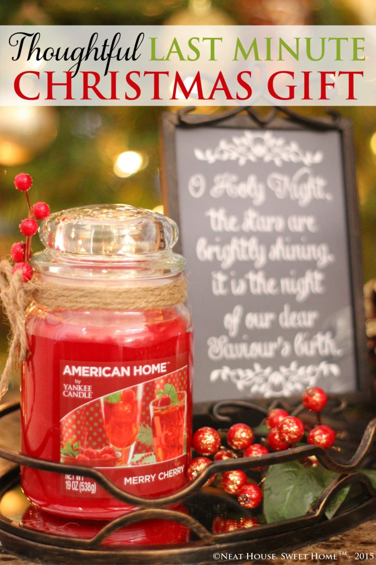 Thoughtful Last Minute Christmas Gift - Free Printable