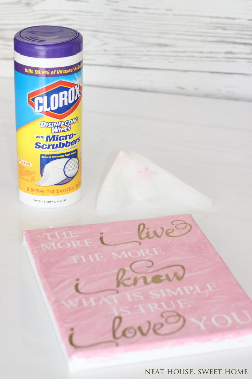 DIY Valentine's Day Wall Art with Silh