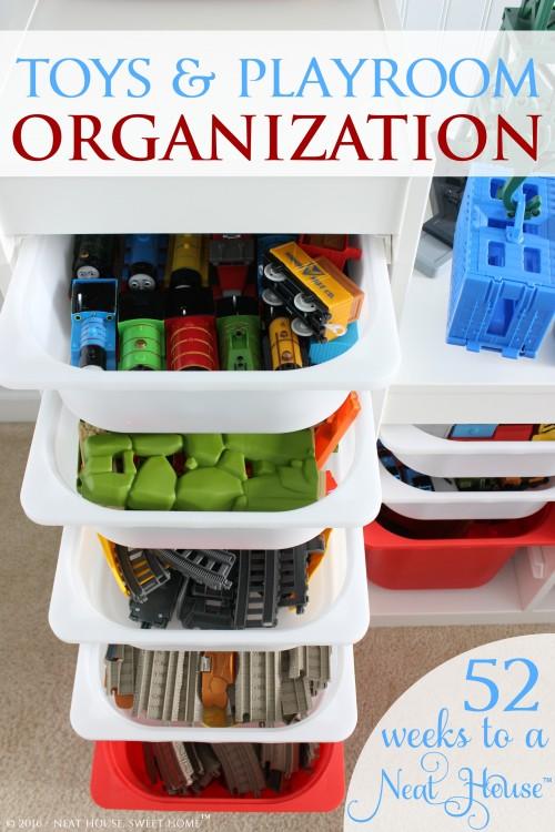 Week 3 - Toys Organization