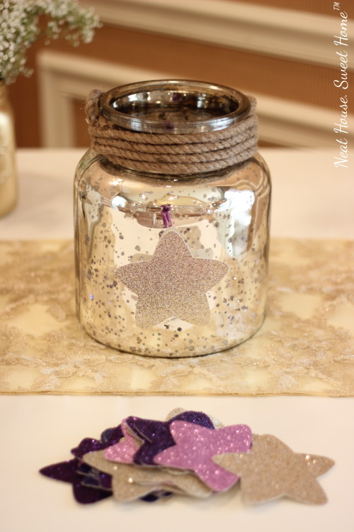 a stunning gender neutral twinkle twinkle little star baby shower theme and decor
