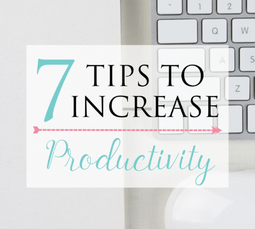 If you are looking to increase productivity at work -regardless of where you work from- these 7 tips will definitely help you get on track and have more time in your hands, and less stress in your mind.