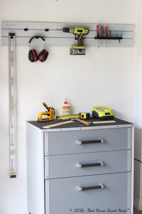 How to organize your garage in a weekend.