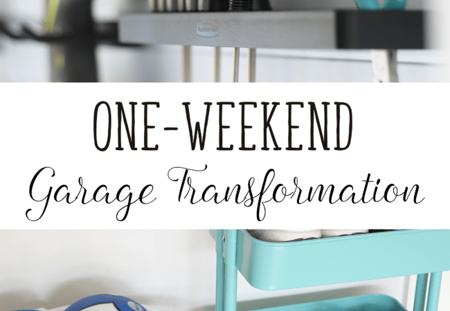 One-weekend Garage Transformation – Week 26