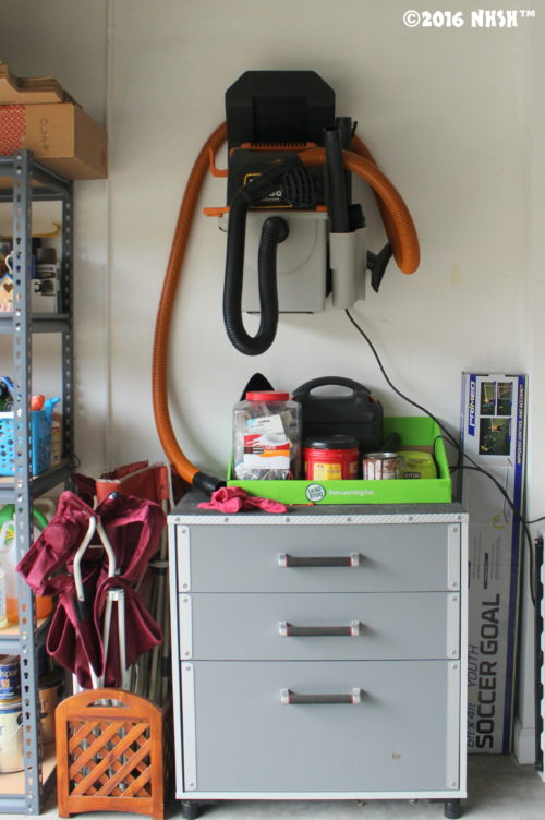 I had 48 hours to complete a decent garage organization. And let me tell you, my garage was a hot mess. But if I was able to turn my garage in (almost) my most favorite place in the house in a weekend, I am sure you can pull it off too.