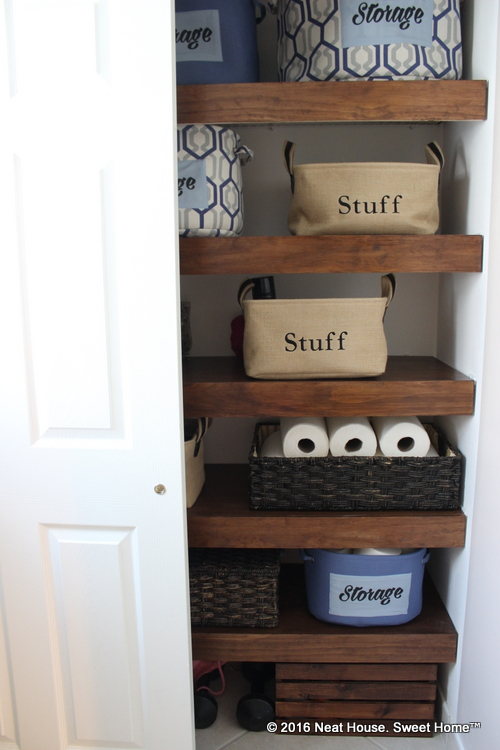 Diy Wood Covers For Wire Shelving Neat House Sweet Home