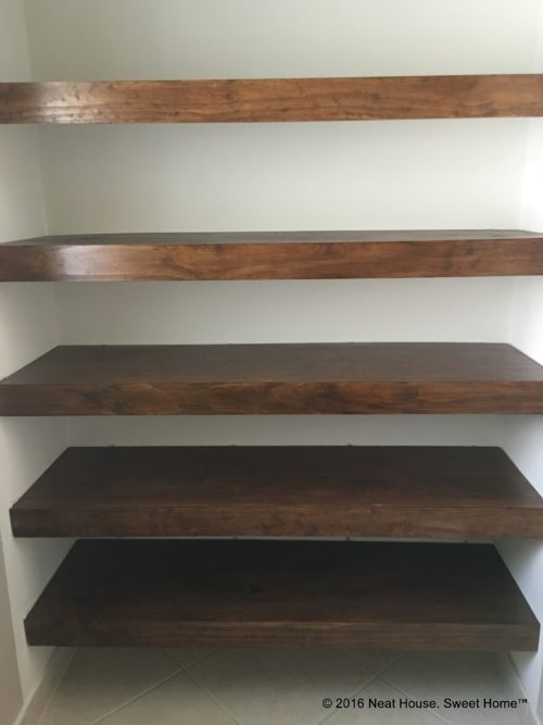 Diy Wood Covers For Wire Shelving Neat House Sweet Home 174