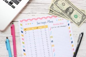 52 Weeks Savings Plan – Free Printable