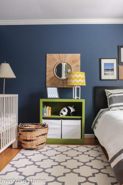Stylish and affordable big boy bedroom decor.