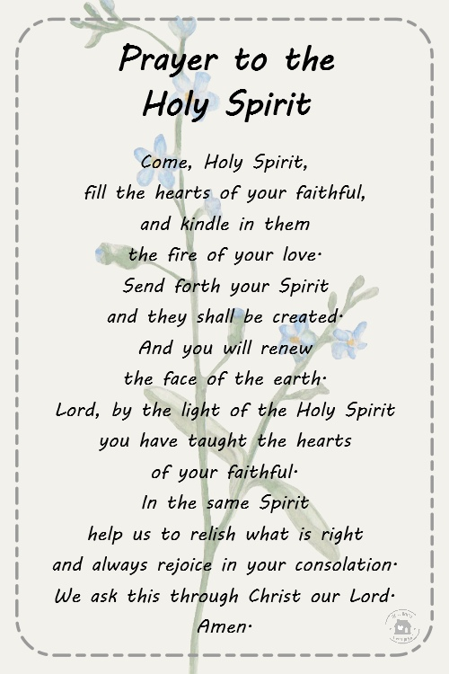 photo relating to Come Holy Spirit Prayer Printable referred to as Prayers for To start with Communion Planning No cost Printable Playing cards