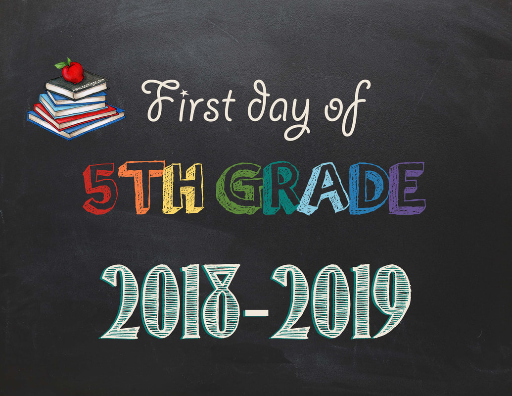 Free Printable First Amp Last Day Of School Signs