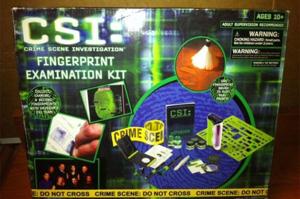 Hasil gambar untuk The CSI Fingerprint Examination Kit