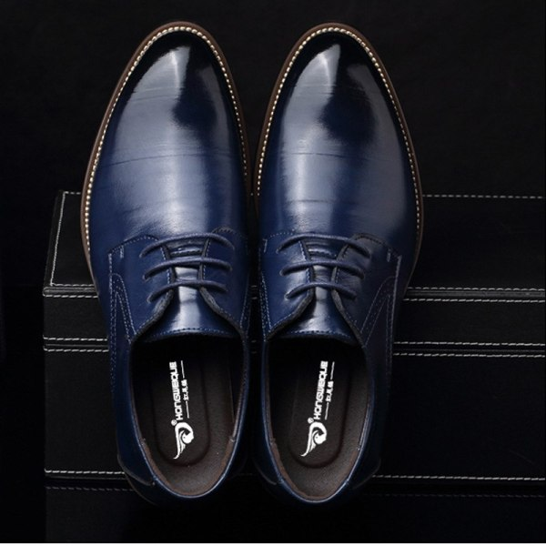 Leather Concise Men Business Shoes 6