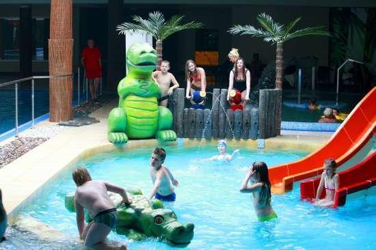 Sandra Spa Karpacz - basen jako atrakcja dla dzieci