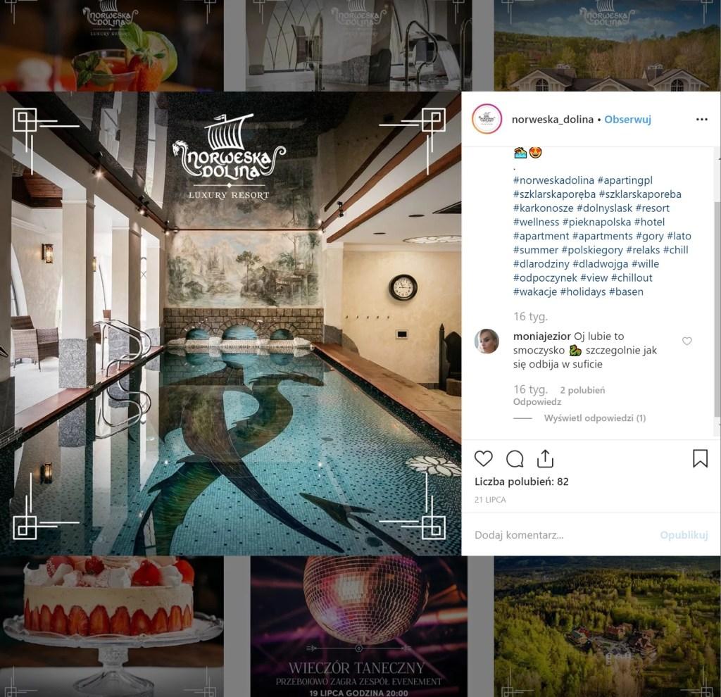 Norweska Dolina Luxury Resort - basen