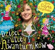 okładka audiobooka - dzieci z ulicy awanturników