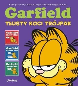 okładka komiksu garfield