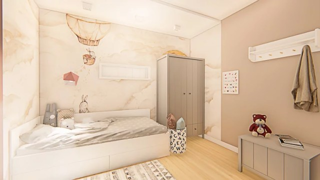 pokój dla dziecka - strefa odpoczynku