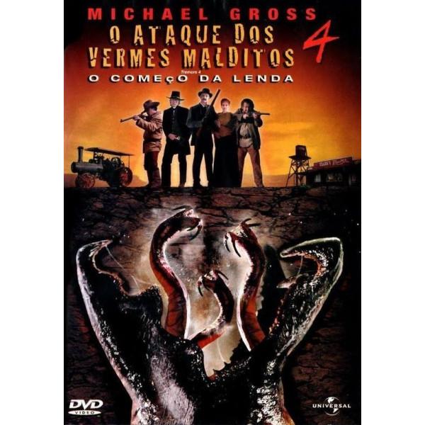 Poster do filme O Ataque dos Vermes Malditos 4: O Começo da Lenda
